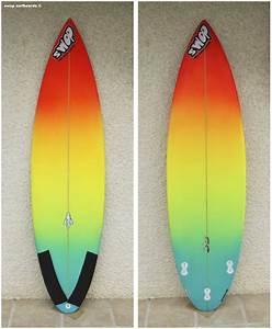 Planche Surf Deco : swop surfboards rainbow shortboard ~ Teatrodelosmanantiales.com Idées de Décoration