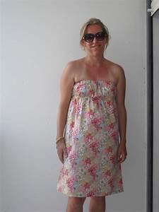 robe bustier quot basiques d39ete quot photo de couture pour With tissu pour robe d été