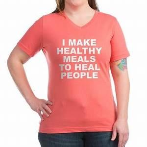 Women S Dark Color Coral V Neck T Shirt With I Make
