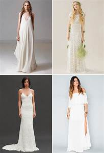 The 20 best wedding dresses for your beach wedding green for Beach wedding bride dresses