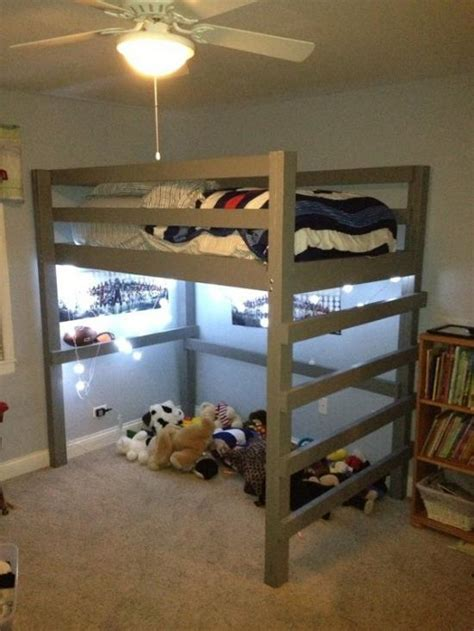 builders showcase  loft bunk twin  vertical ladder