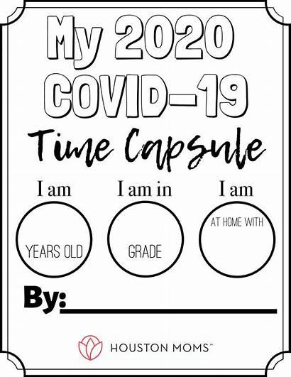 Capsule Covid Printable Coronavirus Coloring Quarantine Pages