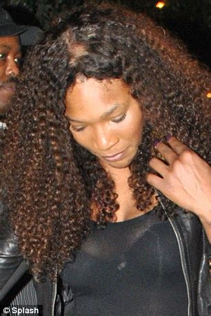 Serena Williams' bald patch: Tennis star's hair extensions