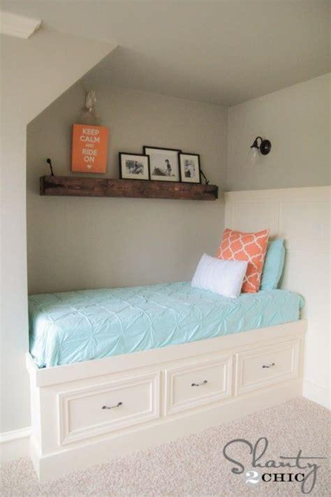 diy built  storage bed nooks built ins  storage beds