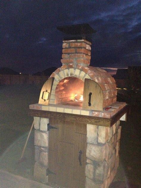outdoor pizza oven design ideas