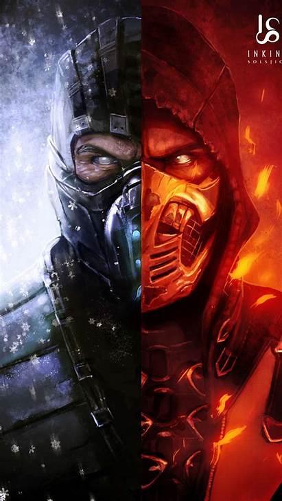 Mortal Kombat Wallpapers Iphone Iphones December Movies