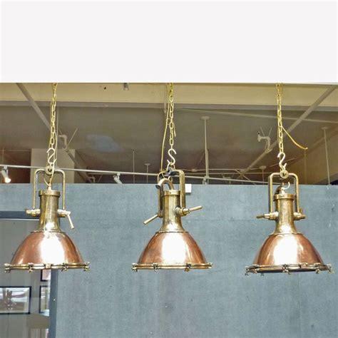 vintage copper  brass ship deck light antiques