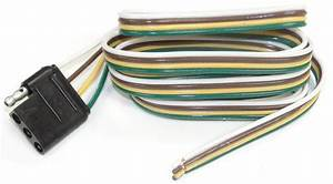 60 U0026quot  Wire Harness - 4-way Flat Connector - Car End