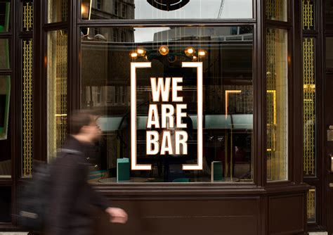 We Bar Bars we are bar branding by ragged edge