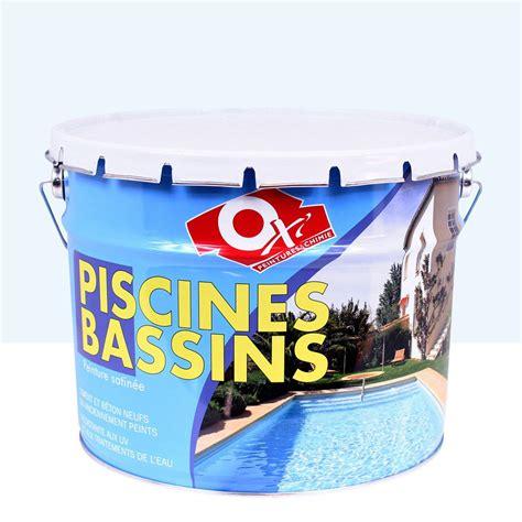 peinture piscine et bassin ext 233 rieur oxytol bleu 10 l