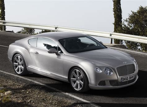 bentley continental gt sports cars