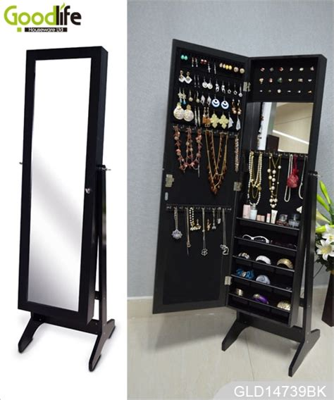 cabinet names and functions full length jewelry cabinet mirror with 3 installing functions