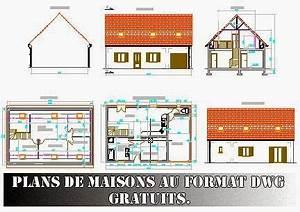 Plans de maisons au format dwg gratuits free dwg journal3 for Plan de maison dwg gratuit