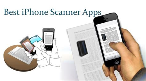 iphone scanner app find best free iphone scanner app to scan documents