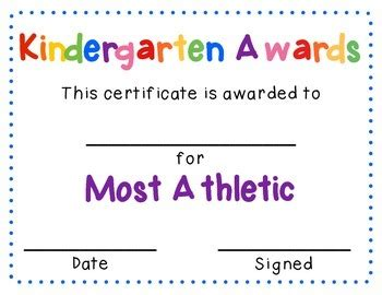 kindergarten graduates end of the year awards by liz 216   original 1226268 4