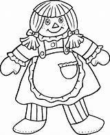 Coloring Pages Doll Printable Dolls Colouring Rag Troll Carousel Animals Ragdoll Coloringhome Popular Printablecoloringpages sketch template