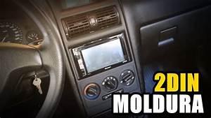 Chevrolet Astra - Como Montar Moldura Dvd 2din
