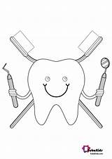 Dentist Coloring Pages Cartoon Printable Bubakids Google Ads sketch template