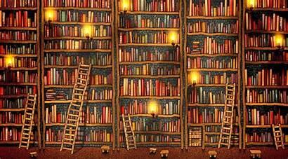 Books Reading Library Desktop Bookshelf Ladder Background