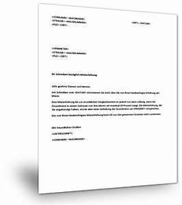 Widerspruch Gegen Baugenehmigung Muster : widerspruch mieterh hung muster musterix ~ Lizthompson.info Haus und Dekorationen