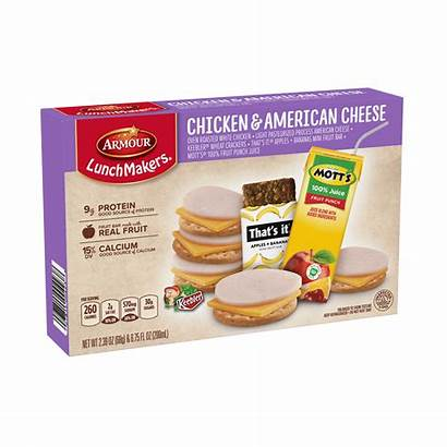 Lunchmakers Chicken Cheese Drink American Pizza Armour