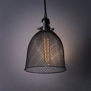 Rustic, State, Industrial, Retro, Style, Mesh, Wire, Cage, For, Pendant, Ceiling, Lamp