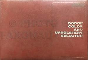 1970 Dodge Dart Wiring Diagram Manual Reprint