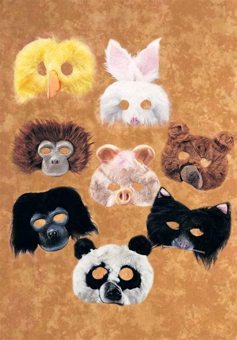 plush animal mask candy apple costumes funny costumes