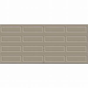 clopay gallery collection 16 ft x 7 ft 184 r value With 18 x 7 garage door prices