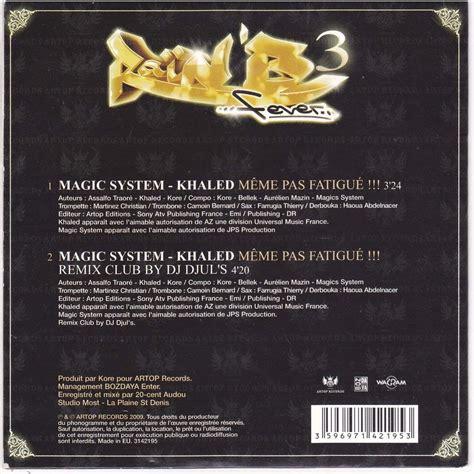 Meme Pas Fatigue - m 234 me pas fatigu 233 m 234 me pas fatigu 233 pour pochette for sleeve de khaled magic system cds