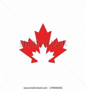 Unique Canadian Maple Leaf Icons Vector Stock Vector ...