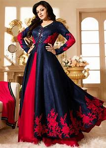 Latest Party Wear Indian Dresses 2017 Styles for Girls ...