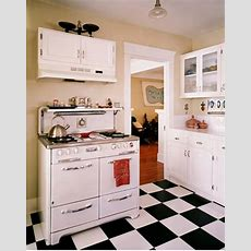 Black And White Kitchen Floors  Kate Collins Interiors