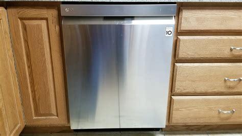 lg dishwasher model ldpst review youtube