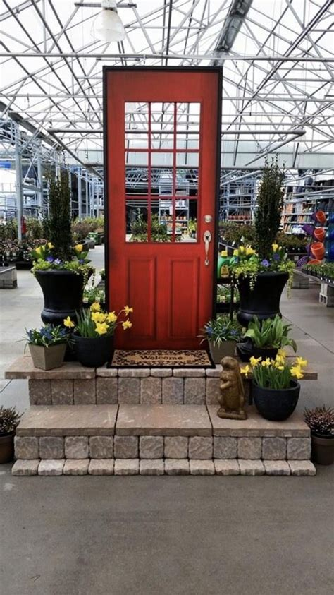 lowes garden center display in the garden center lowe s office photo