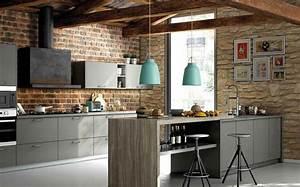 Foto: Cocina con Pared de Piedra y Ladrillo de Old Stones Castellon #1007373 Habitissimo