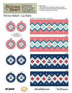 winter relief lip balm template free pdf With chapstick sticker template