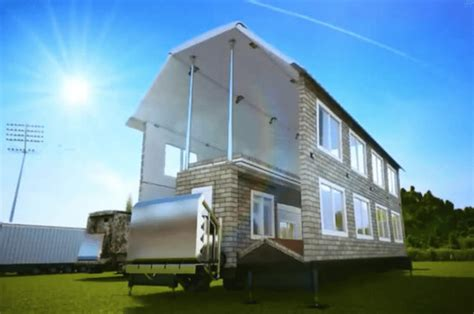amazing mobile home transforms   fill size house  minutes
