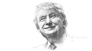 Donald Trump President Drawing