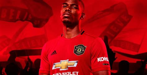 manchester united home kit released footy headlines