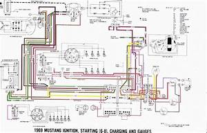 1969 Ford Mustang Ignition Wiring Diagram  Ford  Wiring