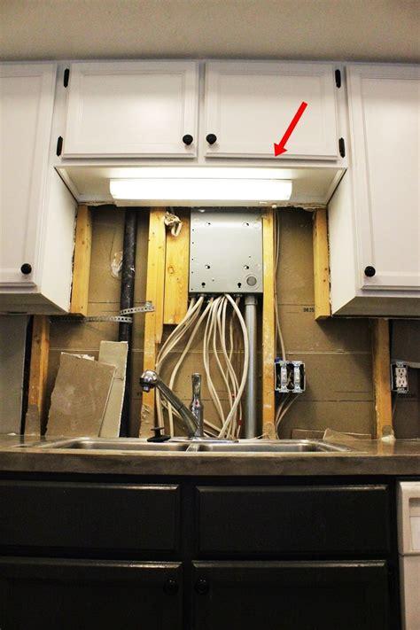 over the sink light fixture diy kitchen lighting upgrade led under cabinet lights