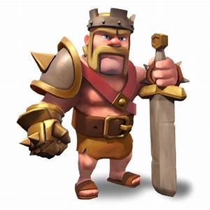 clash of clans level 1 Barbarian King ...