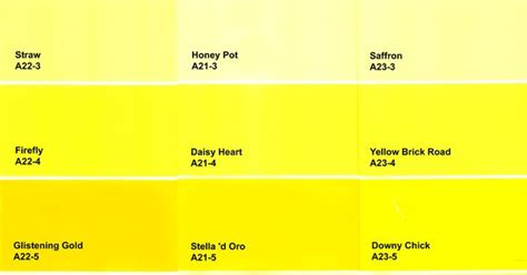 yellow paint colors color chart unusual kitchen islands