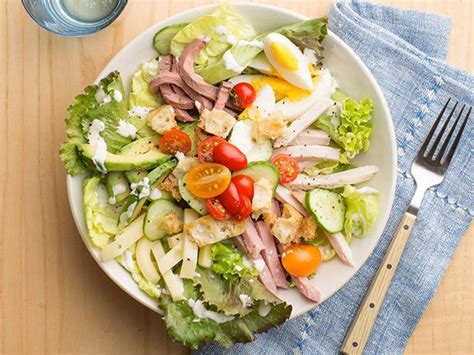 chefs salad recipe food network kitchen food network