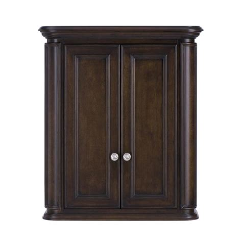 Mahogany Bathroom Wall Cabinet by Living Wrightsville 26 In W X 30 In H X 10 In D