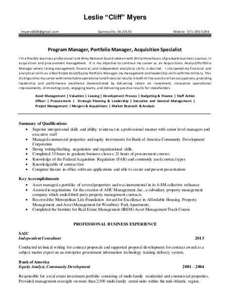real estate project manager resume sles of resumes