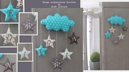 decoration chambre bebe nuage visuel 8