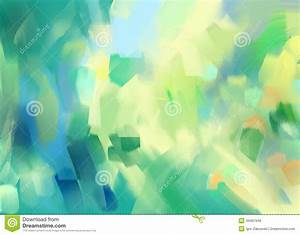 Digital Painting Abstract Background Stock Illustration ...