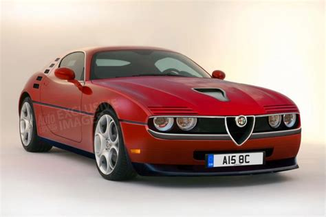 Modern-Day Alfa Romeo Montreal Rendered - 95 Octane